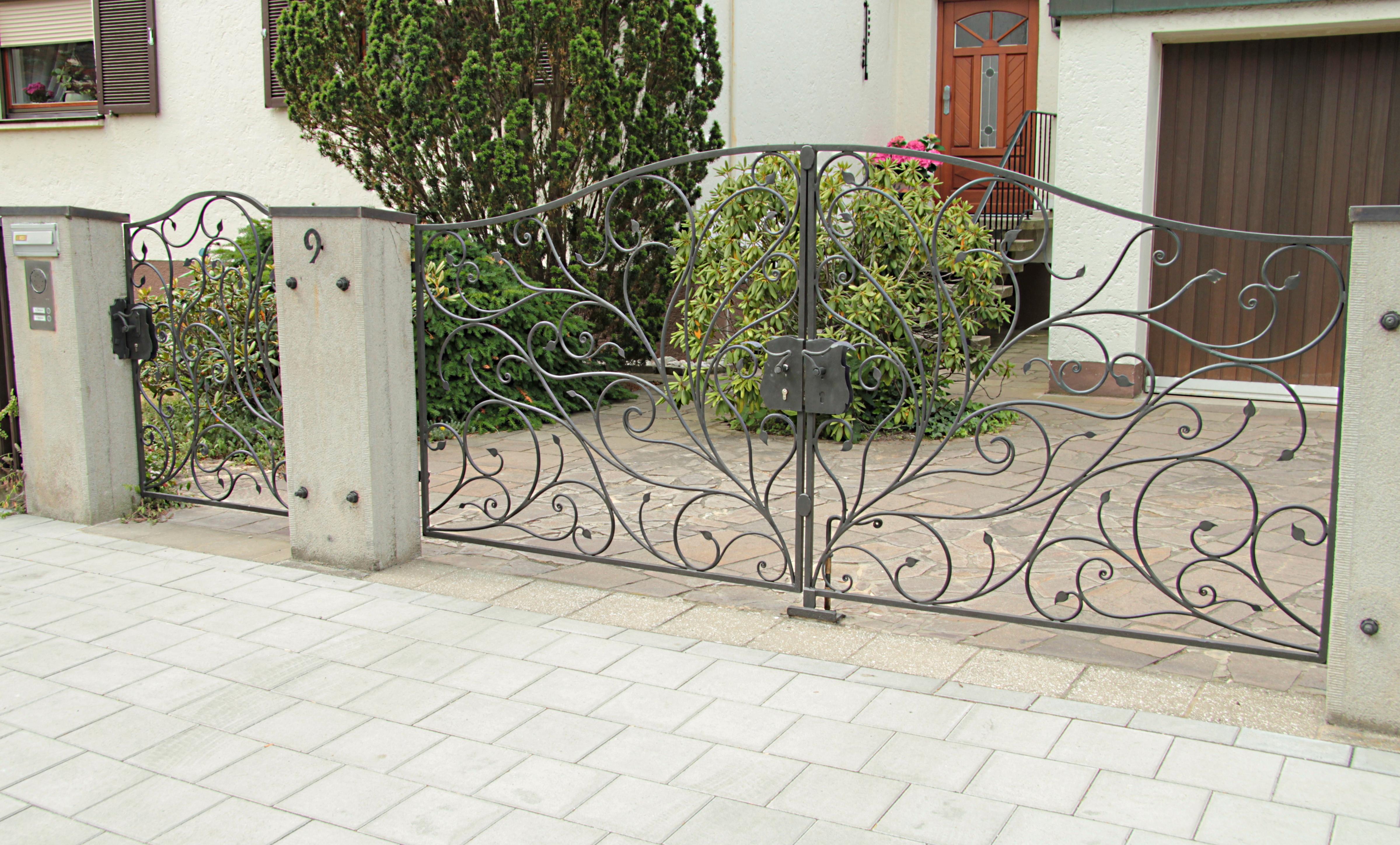 glastr eingangstr best pforte tr eingangstor gartentor hoftor grau beschichtet cm xcm sandbach. Black Bedroom Furniture Sets. Home Design Ideas