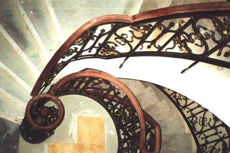 Handläufe Treppengeländer Historisch Gehobelt
