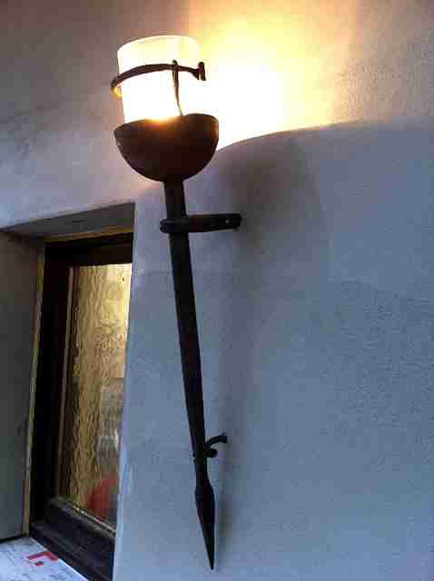Historisierte wandlampe for Exclusive lampen